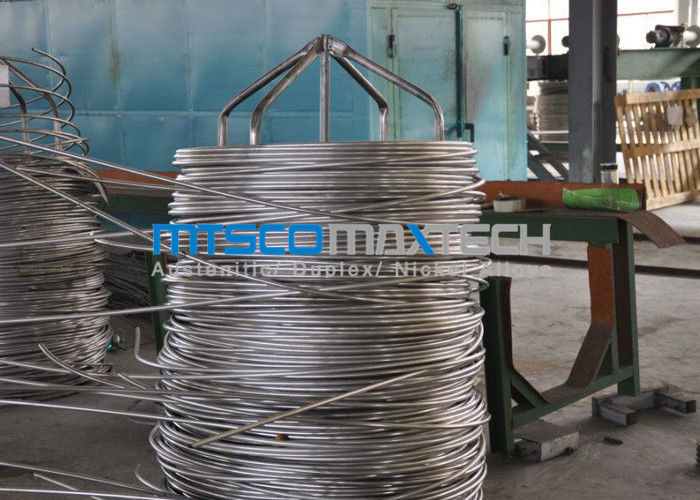 20BWG 0.89mm Wall Thickness Stainless Steel Coiled Tubing ASTM A213 Standard supplier