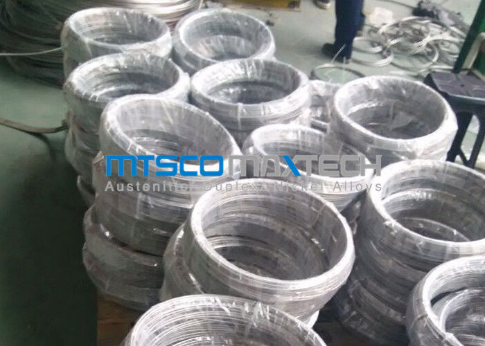 China ASTM A213 Seamless Stainless Steel Tubing Size 9.53mm x 22 SWG 1.4404 / 1.4401 / 1.4407 factory
