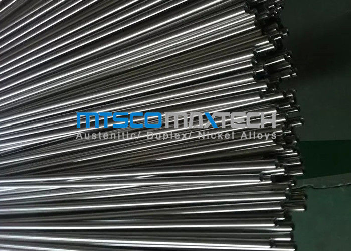 China Cold Drawn Stainless Steel Instrument Tubing ASTM A269 / A213 9.53mm x 22 SWG factory