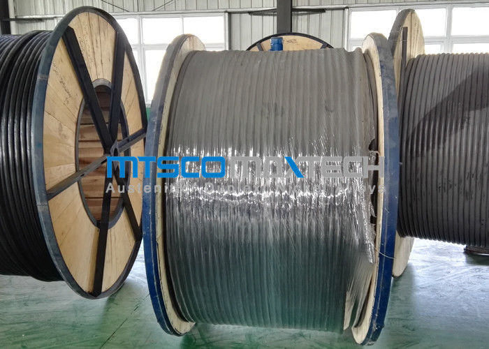 Duplex Steel 2205 Coiled Stainless Steel Tubing Super Long / Cold Drawn Tubing supplier