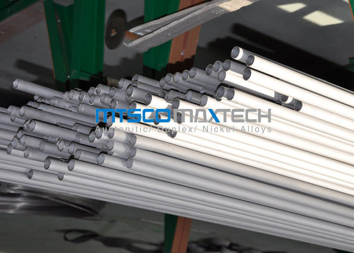 China Annealed / Pickled Duplex Stainless Steel Tube 1 / 8 Inch Cold Rolled Tube factory
