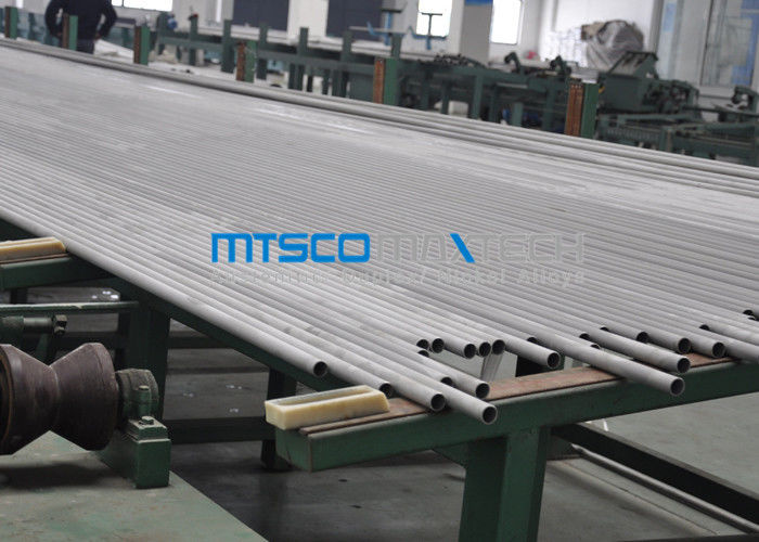 China Petroleum Cold Rolled Duplex Stainless Steel Tube 6096MM Length PED Certification factory