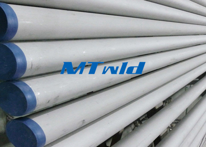 ERW ASTM Standard Stainless Steel Welded Pipe For Fluid / Gas Transportation supplier