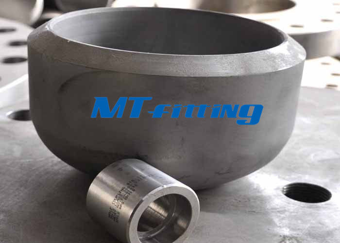 ASME / ANSI B16.5 Stainless Steel Cap , Butt Welded Stainless Steel Pipe Fitting supplier