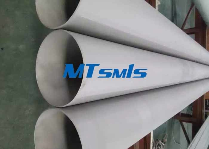 Cold Rolled Stainless Steel Seamless Pipe ASTM A312 For Fluid / Gas Industry supplier