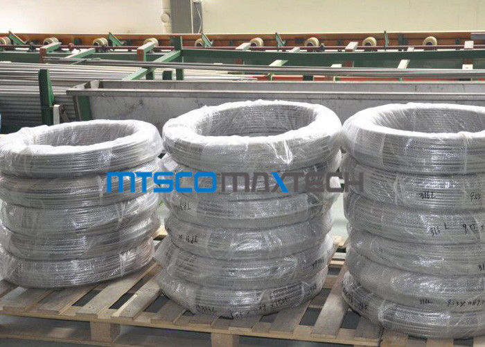 China Chemical Industry Duplex Steel Tube Coiled Pipe S31803 ASTM A789 / A790 factory