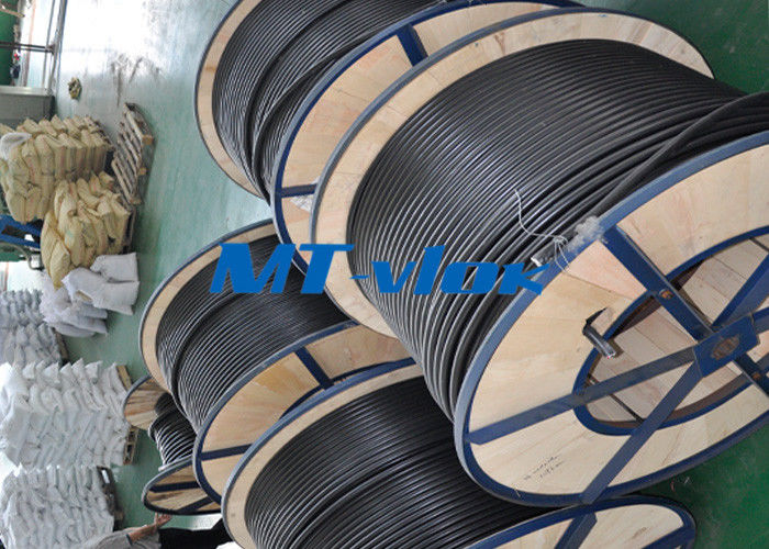 China ASTM A269 S30403 / S31603 Stainless Steel Welded Tube Coiled Stainless Tubing factory