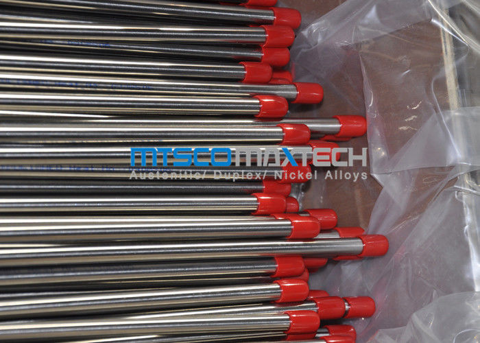 Bright Surface Seamless Stainless Steel Pipe S30908 / S31008 ASTM A213 , Size 9.53*0.89mm supplier