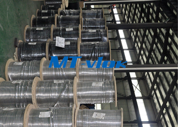 Seamless ASTM A269 TP316L / 304L stainless steel coil tube ISO 9001 & PED & AD2000 supplier