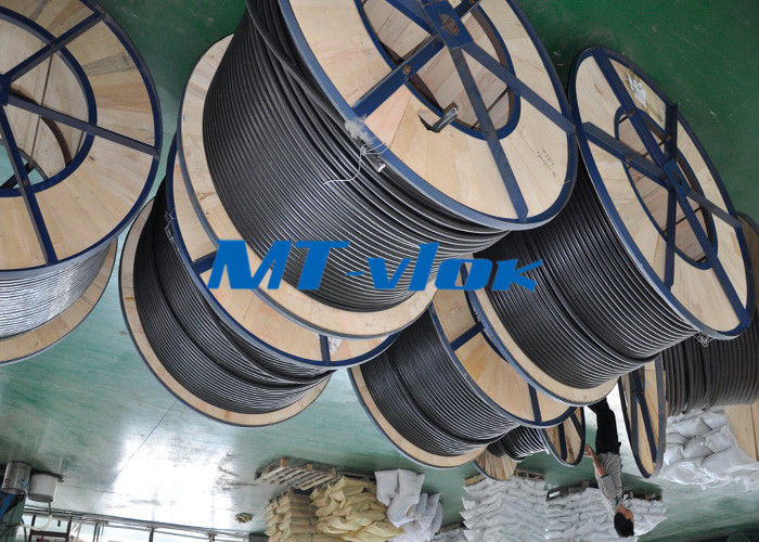 MTSCOSSCT55 TP316 / 316L 3 8 stainless steel coil tubing For Hater tubing line supplier