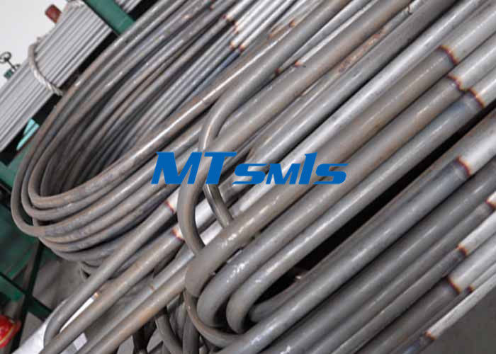 TP304L / S30403 Stainless Steel U Bend / Heat Exchanger Tube With Annealed & Pickled Surface supplier