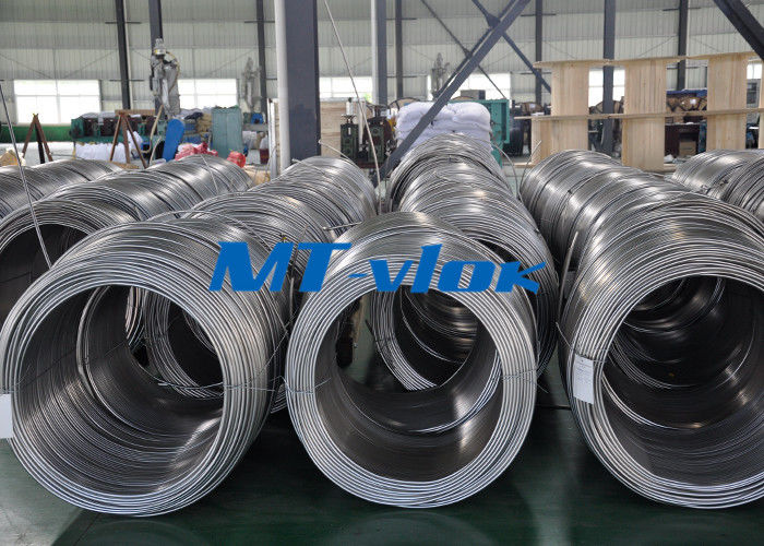 China ASTM A269 TP316L Stainless Steel Coiled Tube For Instrument factory