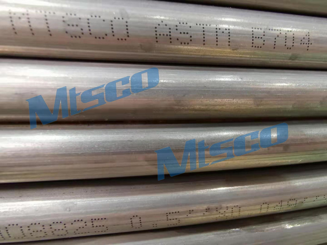 Bright Annealing Surface Nickel Alloy Tube Alloy 825 0.5'' * 0.049'' * 4200m supplier