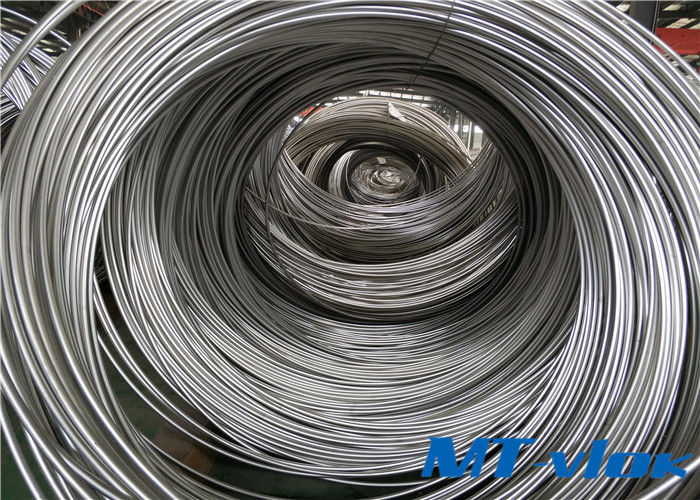 Alloy 825 / N08825 Nickel Alloy Tube Welded Coiled Tubing For Oil And Gas supplier