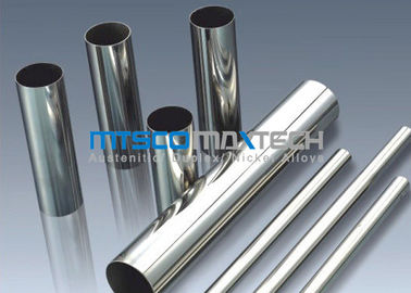 TP304 , TP316 Stainless Steel Sanitary Tubing , Mesh Belt Furnace Annealing
