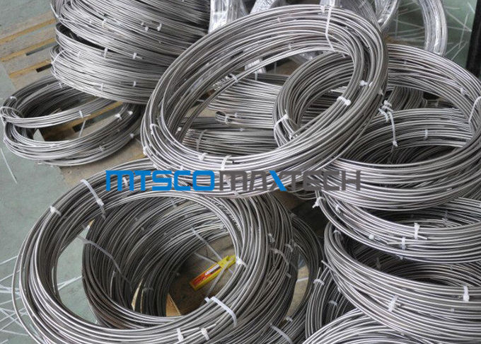 S30400 / 1.4301 Stainless Steel Coiled Tubing For Boiler And Heat Exchanger