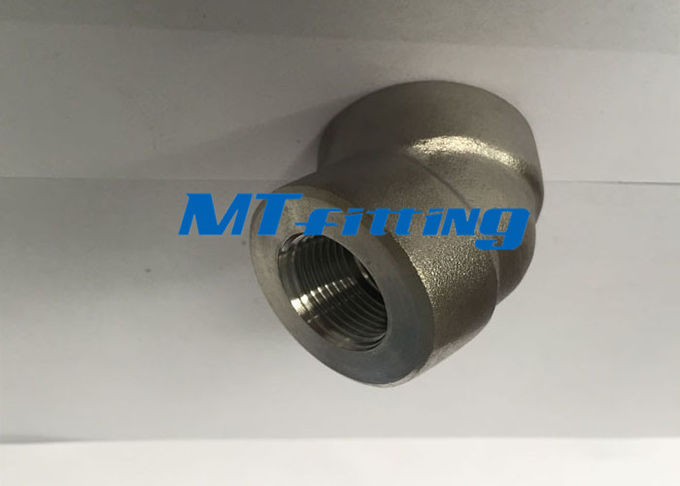 Threaded F91 ASTM A105 Stainless Steel Forged High Pressure